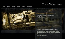 Website Chris Valentino