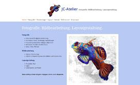 Internetauftritt JC Atelier