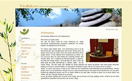 Webseite VivaBalance