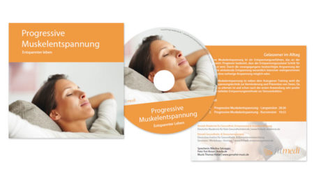 "fitmedi CD & Einschub-Hülle ""Progressive Muskelentspannung"""