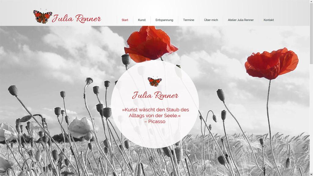 Julia Renner Startseite