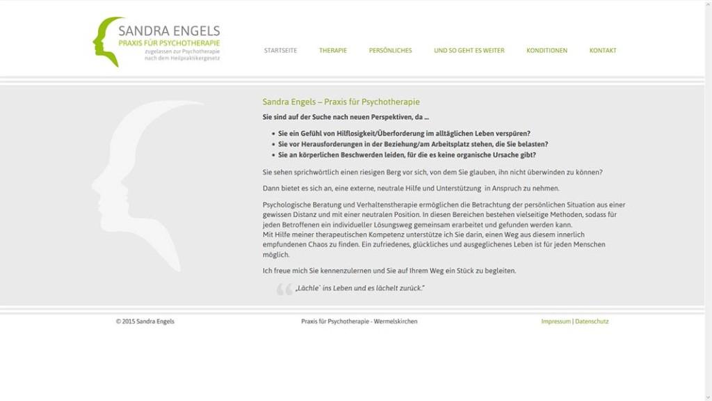 Webdesign Praxis Sandra Engels