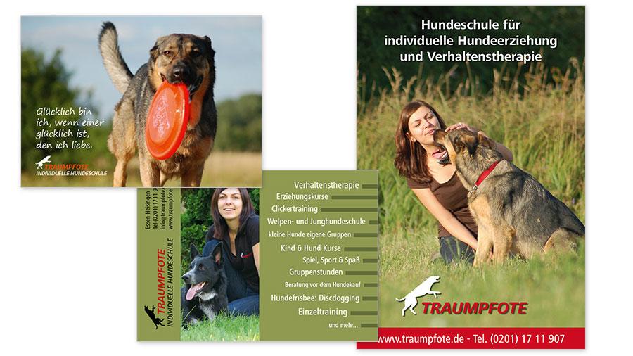 Traumpfote Flyer & Plakat