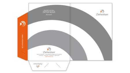 Mappe DIN A4, mit Laschen, Füllhöhe 5 mm, geschlitzt für Abheftstreifen