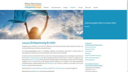 Petra Herrmann - Unterseite Entspannung