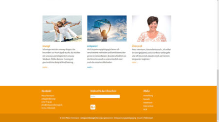 Petra Herrmann - Startseite gecrollt