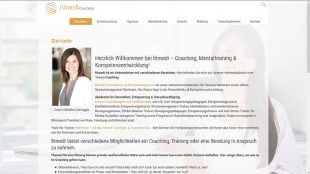 fitmedi Coaching Webseite