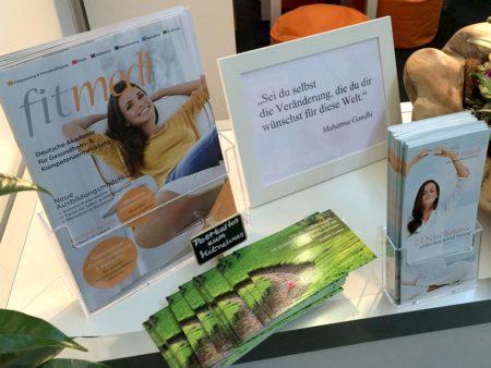 fitmedi Magazin, Flyer & Postkarten